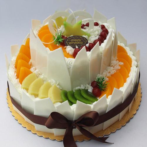 【VIP专享】水果淡奶油蛋糕造型制作技术